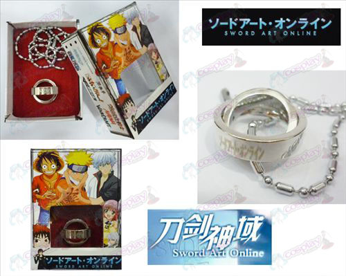 Sword Art Online Accessoires Dubbele Ring Ketting