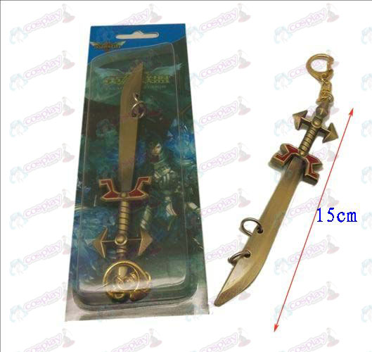 League of Legends Accessoires mes gesp 4 (koper)