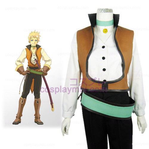 Tales of the Abyss Guy Cecil Halloween Cosplay België Kostuum