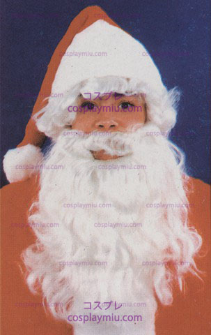Kerstman Wig & Beard, Child