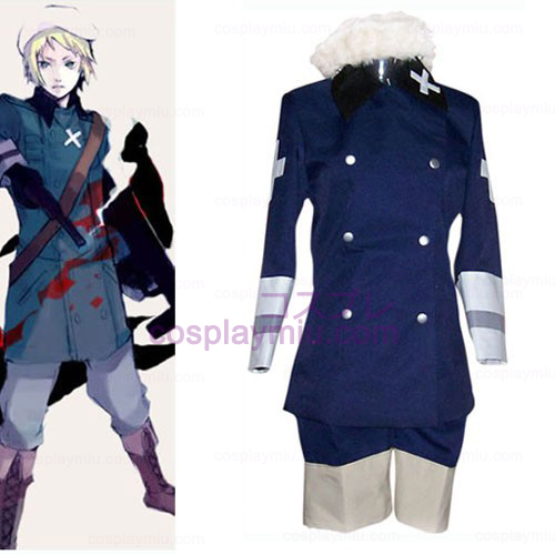 Royal Blue Hetalia: Axis Powers Cosplay België Kostuum