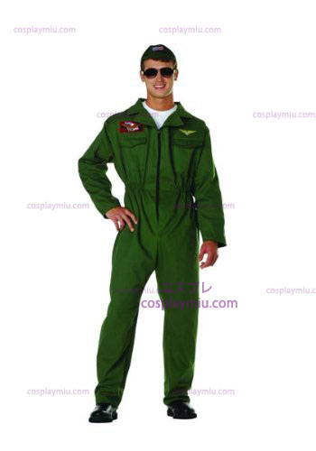 Top Gun Plus Size Kostuum