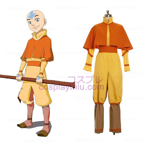 Avatar The Last Airbender Cosplay België Aang Costume