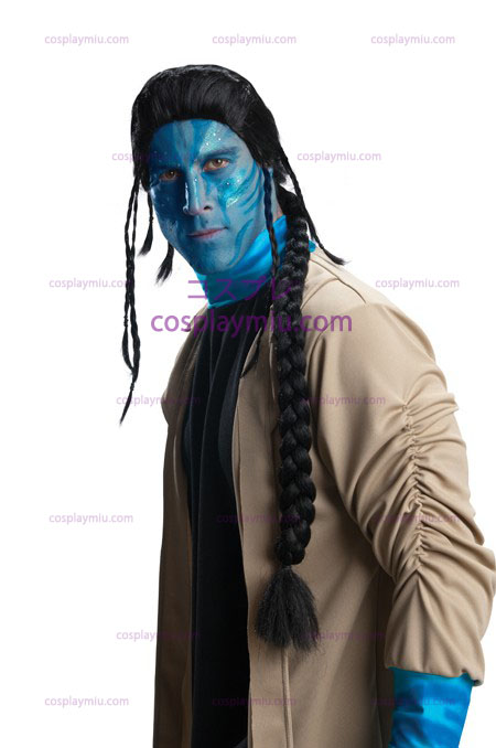 Avatar Jake Sully Adult Pruik