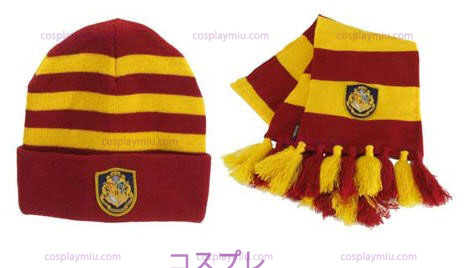 Knit Hat Harry Potter Zweinstein En Sjaal Set