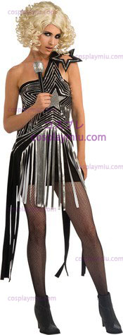 Lady Gaga Star Dress Xs