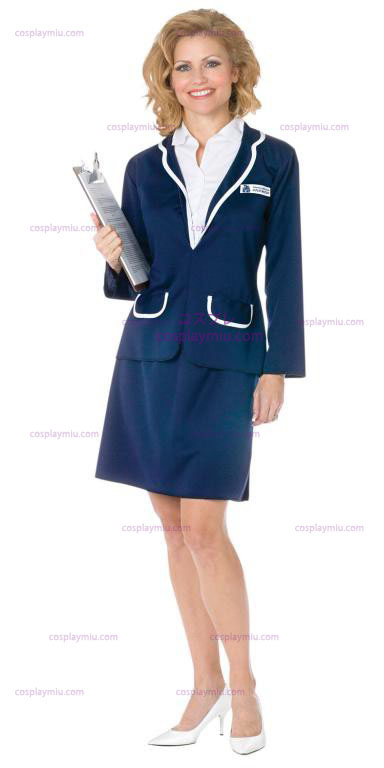 Love Boat Cruise directeur Julie Adult Costume
