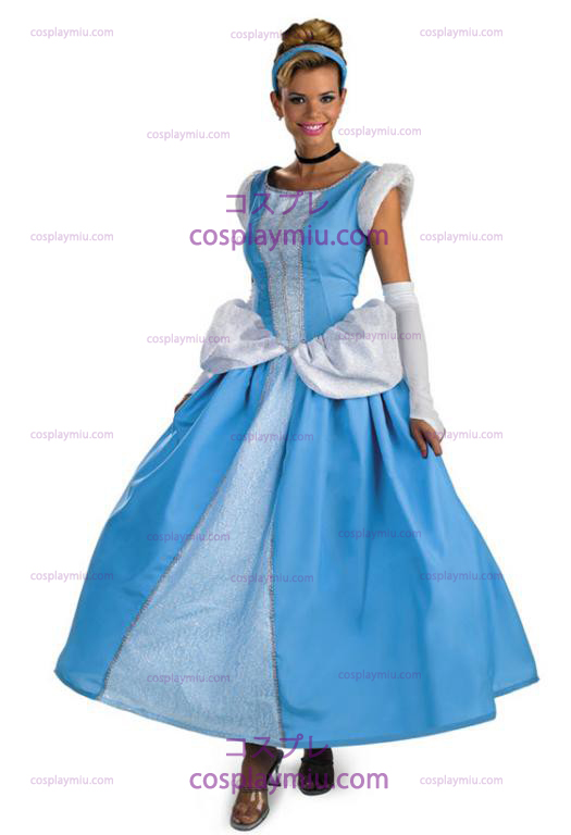 Prestige Adult Cinderella Dress Kostuum