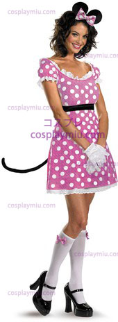 Minnie Mouse Sassy Roze 12 tot 14