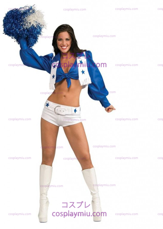 Dallas Cowboy Cheerleader Deluxe Adult Costume