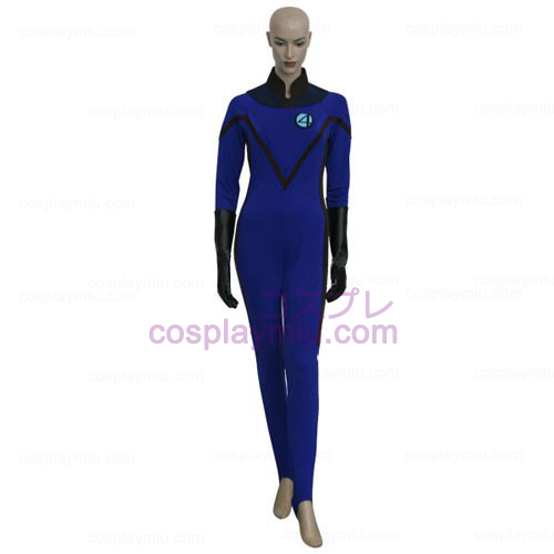 Fantastic 4 Invisible Woman Cosplay België Kostuum