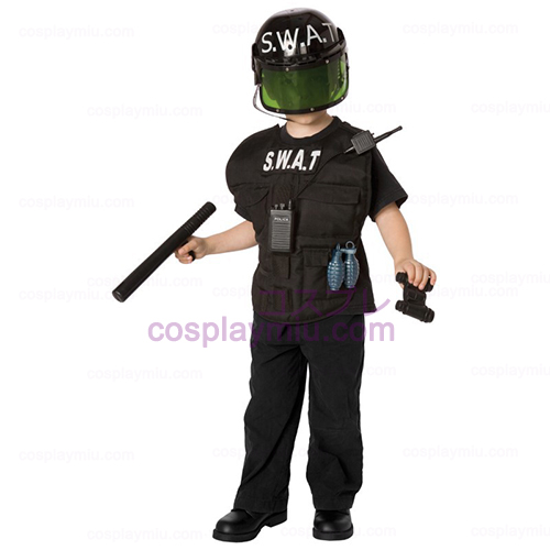 S.W.A.T. Officer kind kostuum Kit