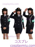 Knappe Lady Police Uniform Kostuum