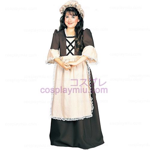 Koloniale Girl Child Costume