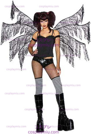 Donkere Nymph Wings Black