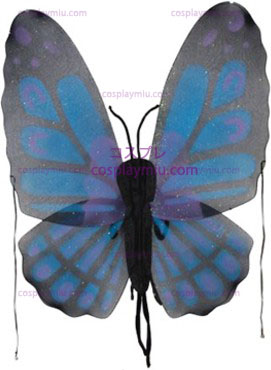 Wings, Butterfly, Blue