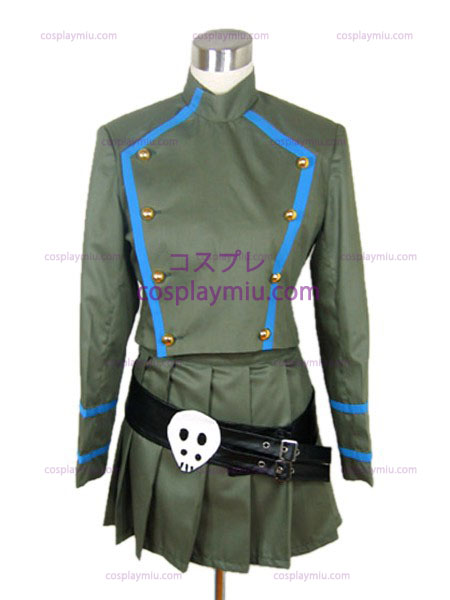 Schedel Hitman REBORN Chrome tutor uniforme kostuum