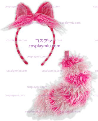 Chesire Cat Ear \ / Tail Set