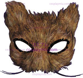Masker Cat Feather Natural