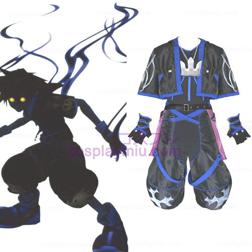 Kingdom Hearts 2 Anti Sora Mannen Cosplay België Kostuum