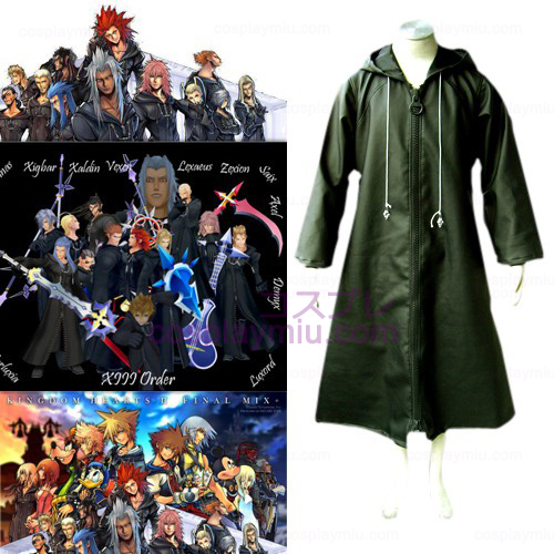 Kingdom Hearts 2 Organization XIII 13 Cosplay België Kostuum