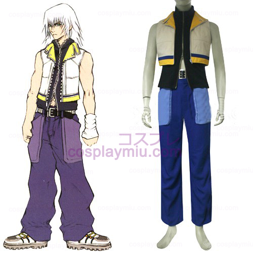 Kingdom Hearts 2 Riku Men's Cosplay België Kostuum