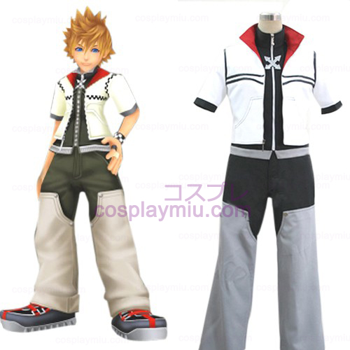 Kingdom Hearts 2 Roxas Men's Cosplay België Kostuum