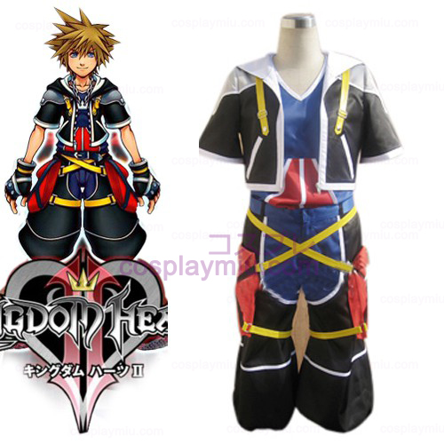 Kingdom Hearts 2 Sora Men's Cosplay België Kostuum