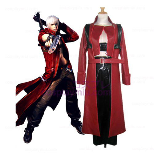 Devil May Cry 3 Dante Cosplay België Kostuum