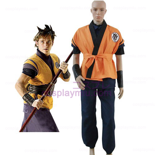 Dragon Ball Movie Goku Cosplay België Kostuum