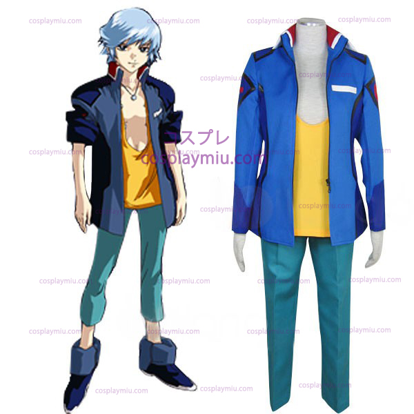 Gundam Seed Destiny Earth Alliance Man Uniform Cosplay België Kostuum